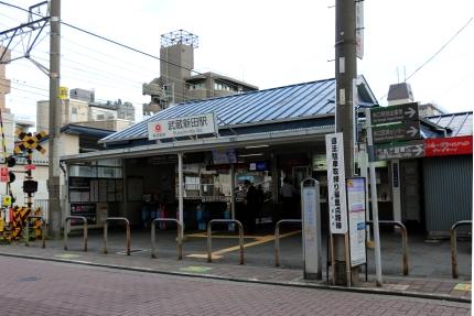 東急多摩川線 武蔵新田駅