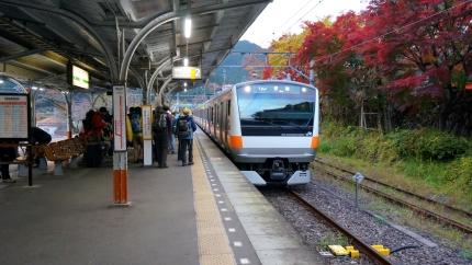 JR青梅線 御岳駅
