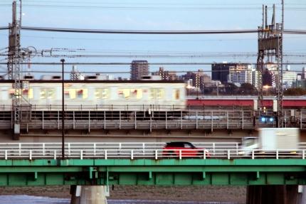 多摩川の橋再び