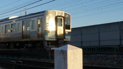 JR信越線 裾花川橋梁