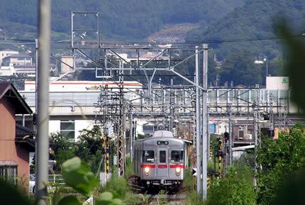 村山駅3500系3