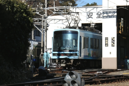 江ノ電 極楽寺