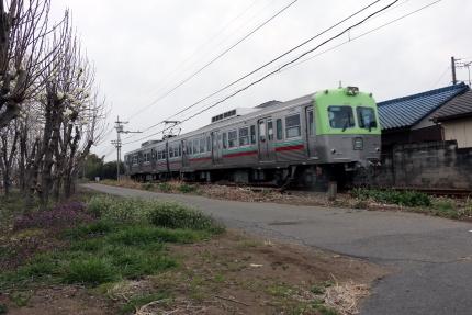上毛電気鉄道 大胡駅周辺