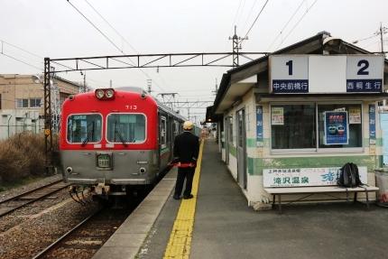上毛電気鉄道 大胡車庫