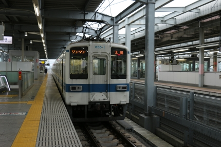 東武鉄道 伊勢崎駅