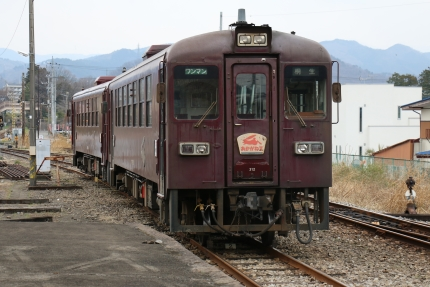 わたらせ渓谷鐵道 大間々駅
