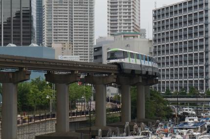 芝浦西運河東京モノレール
