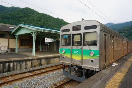 秩父鉄道 三峰口駅