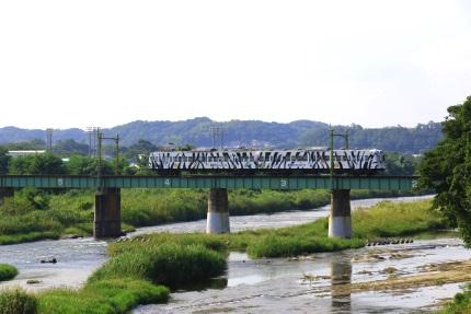 上信電鉄 鏑川