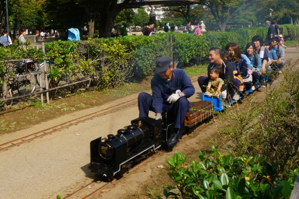 行徳公園の市川蒸気鉄道クラブ