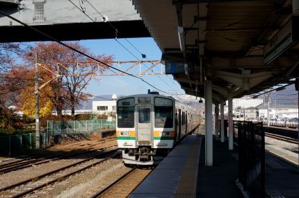 JR上越線 沼田駅