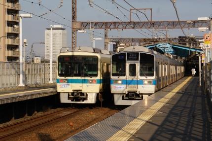 小田急線新松田と相模川橋梁