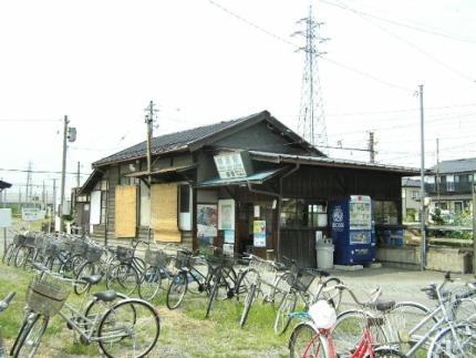 長野電鉄柳原駅