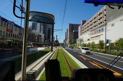 阪堺電車緑化線路