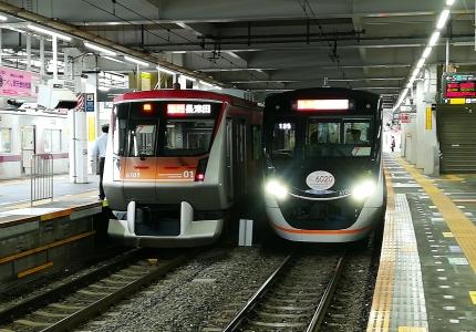 東急6000系と6020系