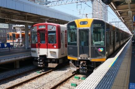 阪神本線となんば線