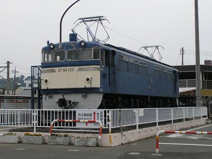 JR足利駅EF60