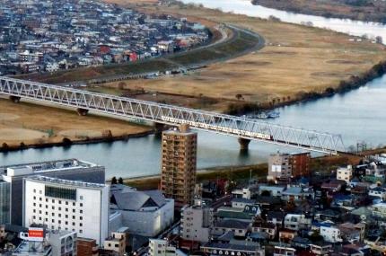 市川アイ・リンクタウン展望台からの眺め