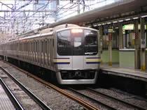 西大井駅E217系