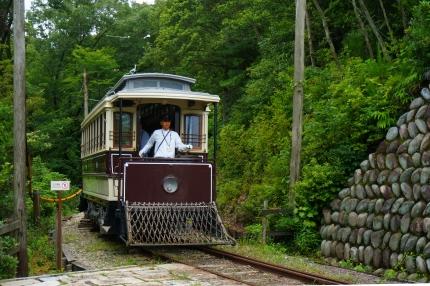 明治村の電車