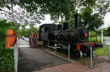 明治村の蒸機