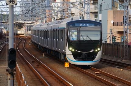 東急目黒線3020系試運転