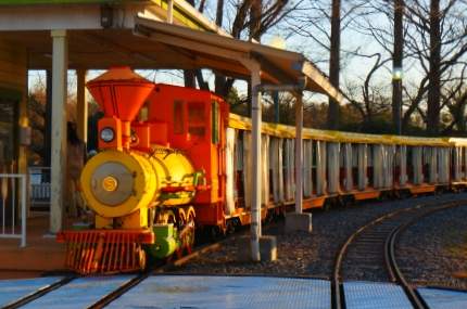 太陽の恵み鉄道パークライン