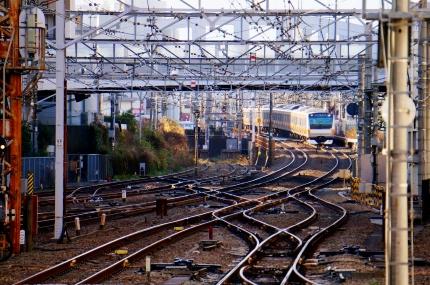 中央線八王子駅