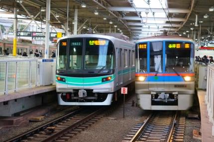 東急目黒線多摩川駅