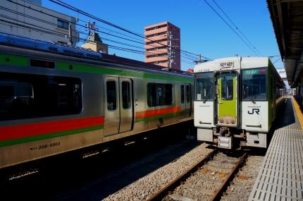 八高線高麗川駅