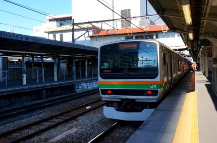 高崎駅湘南新宿ライン