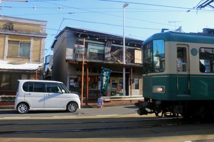 江ノ電の路面区間