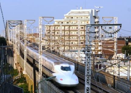 JR東海道新幹線と飛行機