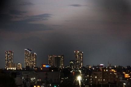JR東海道新幹線の夜景