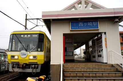 """遠州鉄道""""あかでん""""のラッピング車"""