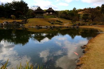 上州小幡の町 楽山園