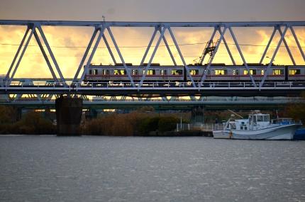京成電鉄 江戸川橋梁