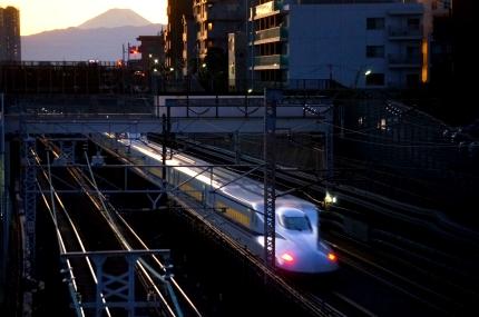 JR横須賀線 三本松跨線橋