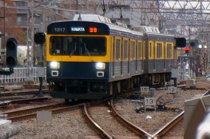 東急多摩川線蒲田駅