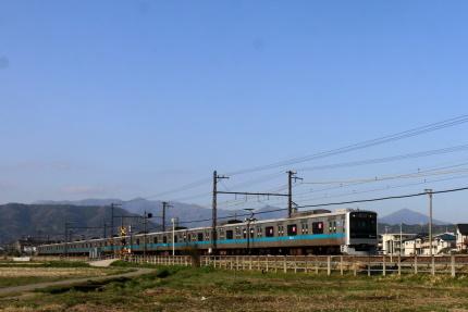 小田急線富水駅