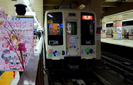 浅草駅のスカイツリートレイン