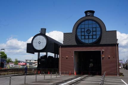 真岡鐵道真岡駅 SLキューロク館