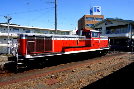 真岡鐵道 下館駅