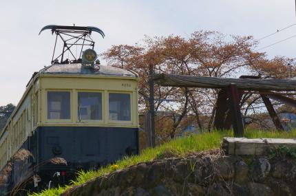 上田電鉄 丸窓電車