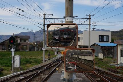 上田電鉄 下之郷駅