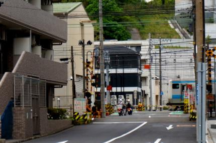 第一京浜から見た京浜東北線