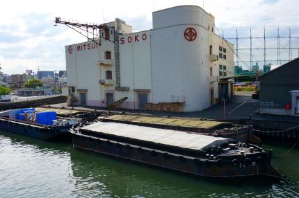 瑞穂大橋から三井倉庫