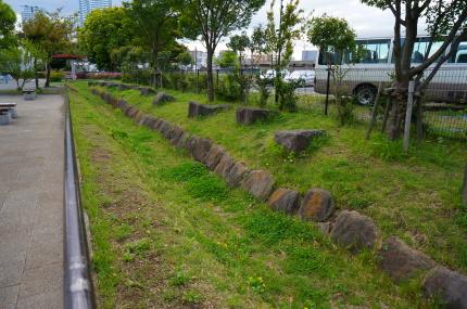 神奈川台場跡石積み