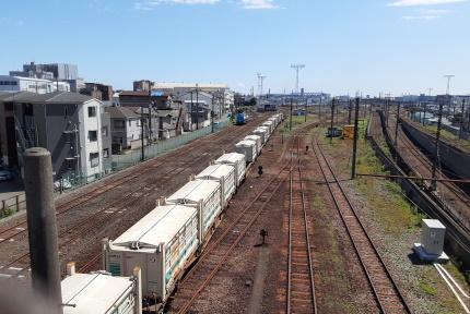 JR川崎貨物駅