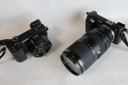 SONY NEX6 & α6400